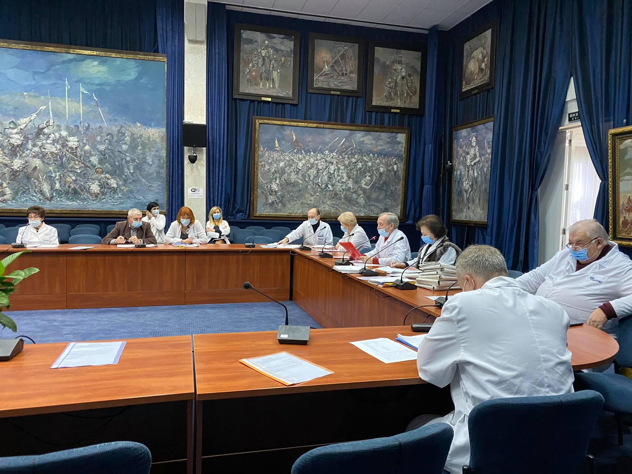 Засідання Ученої ради 15 грудня 2020 року