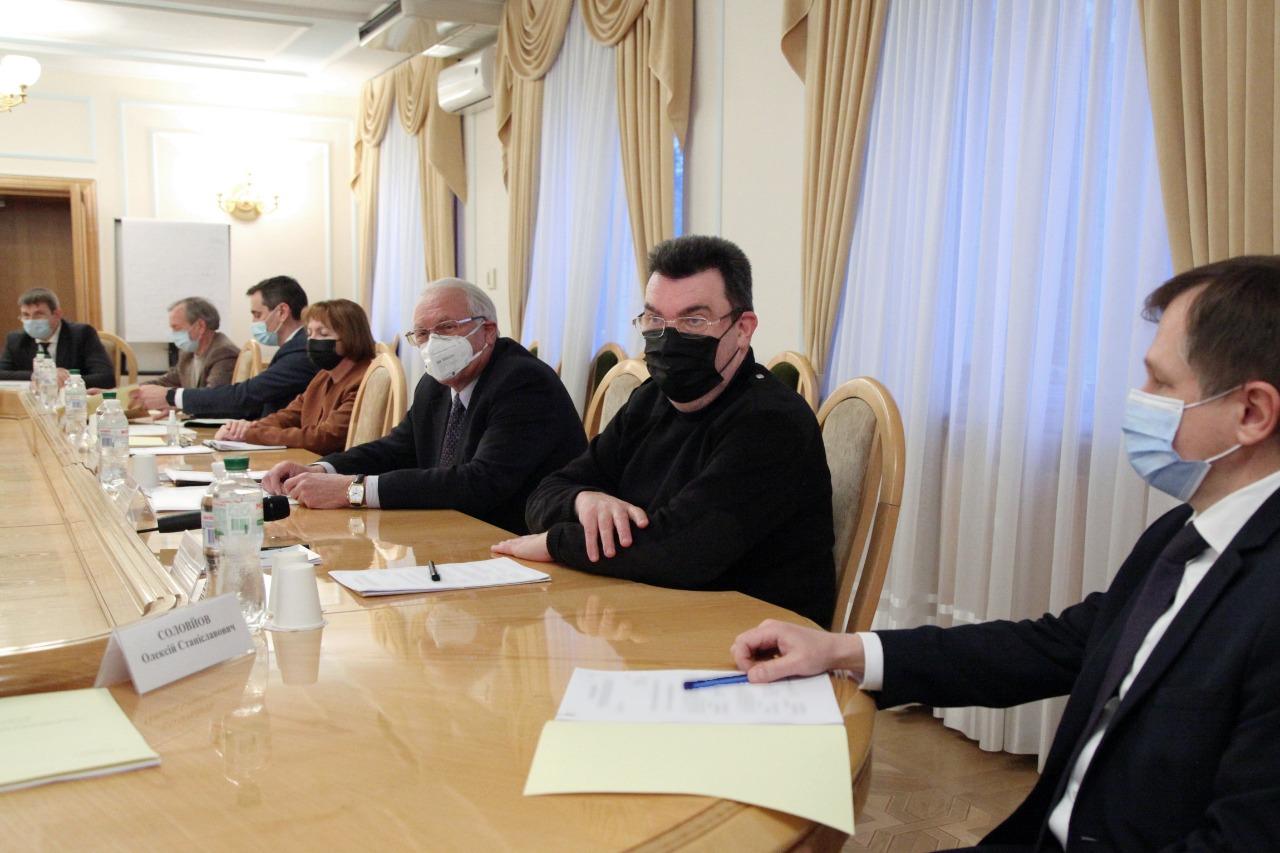 Комісія з біобезпеки та біологічного захисту при РНБО України провела перше засідання в оновленому складі